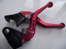 Ducati 796 MONSTER (11-14), CNC levers short red/chrome adjusters, DB12/D22